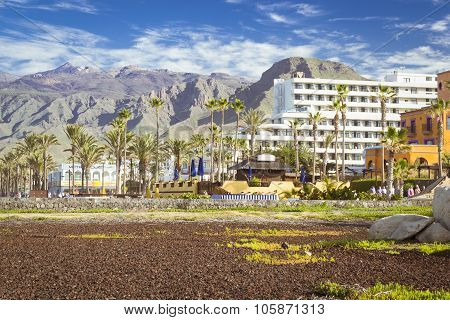 Playa De Las Americas, Tenerife, Canary Islands, Spain