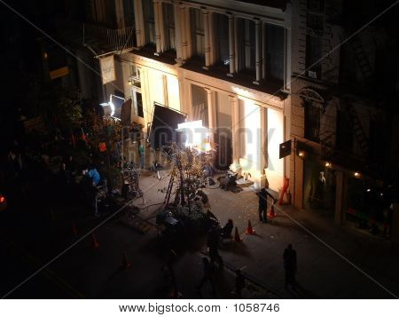 A Film Shoot From Above