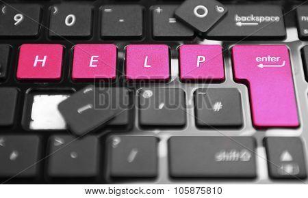 Help Key Push It