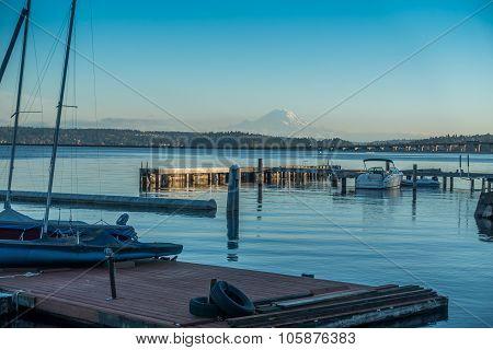 Along Lake Washington - Rainer