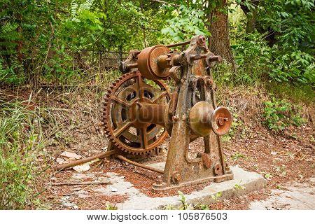 Rusty Old Mechanism.