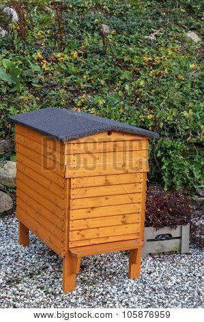 Wooden beehive