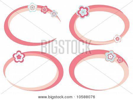 Pink frames