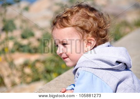 Cute 3 year old child