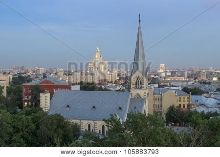 Cathedral of Saints Peter and Paul Church - Lutheran cathedral in Moscow