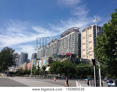 streetscape of urban Tianjin
