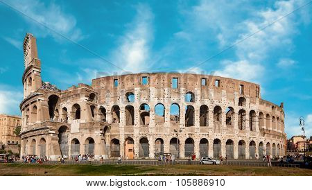 Colosseum (Colosseo) in Rome, Italy