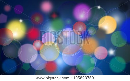 Colorful Abstract Cool Bubbles Wallpaper