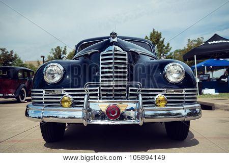Dark Blue 1947 Packard Custom Coupe Classic Car