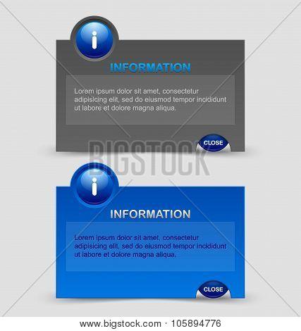 Information Notification Windows
