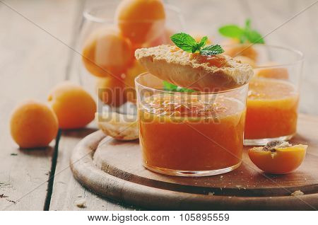 Apricot Jam With Bread