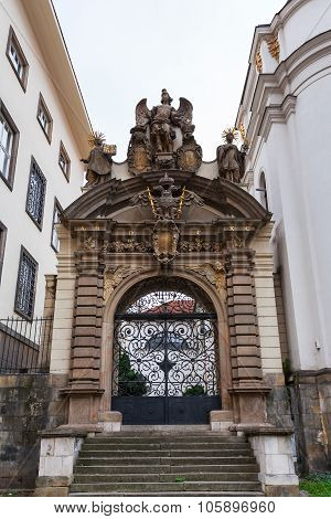 Gate Of Church Of The Assumption Of Virgin Mary