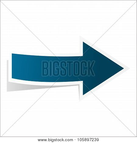 Blue best arrow
