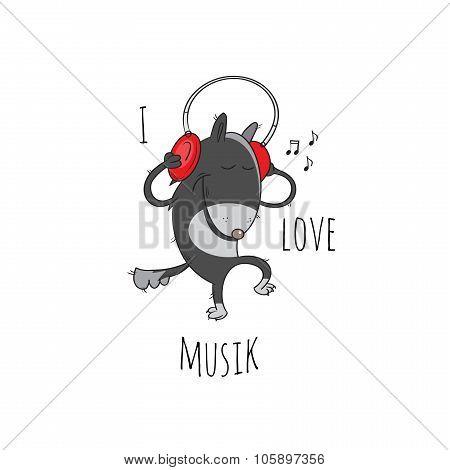I Love Musik.