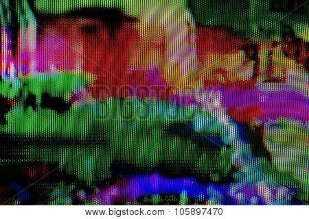 Digital Tv Broadcast Glitch