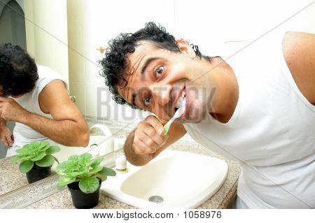 Brush The Teeth