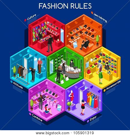 Fashion  Cells Isometric