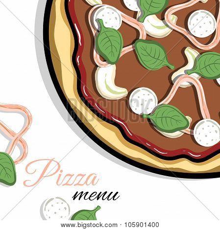 Menu For Pizzeria 2