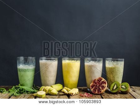 Smoothie Day, Healthy And Delicious