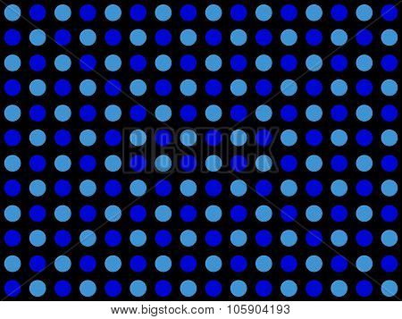 Dotted Pattern With Light Blue And Dark Blue Dots