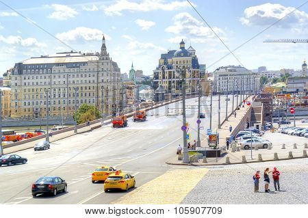 Moscow. Bolshoy Moskvoretsky Bridge