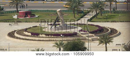 Statue save Iraq