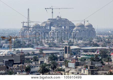 Rahman Mosque In Baghdad