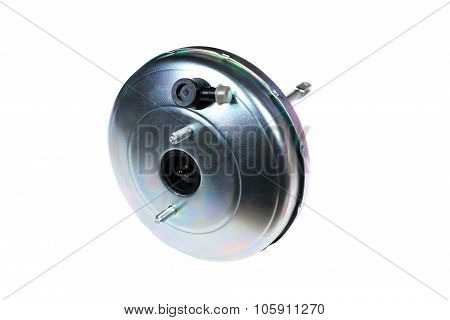 car vacuum booster isolated on white background