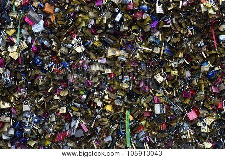 Colored Lockers In Paris