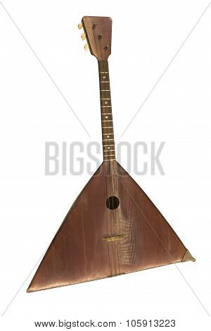 Bass Balalaika. String Plucked Musical Instrument, 1910