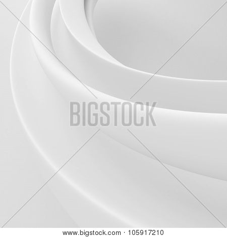 White curves abstract wallpapers
