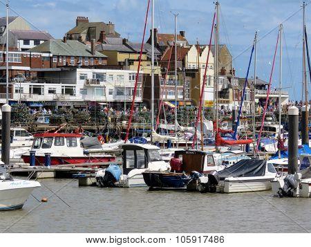 Bridlington Harbour UK