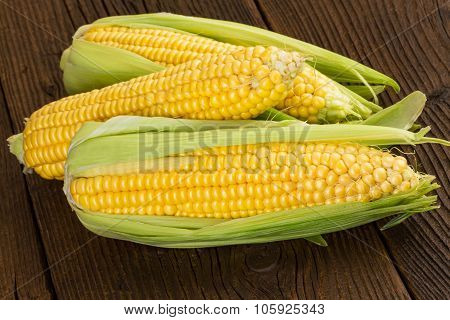 corn cob sweet corn