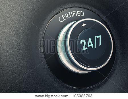 24 7 Service Concept
