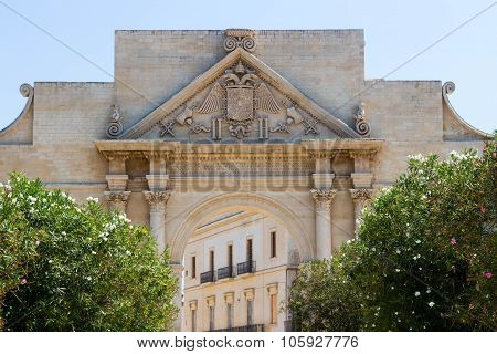 Naples Gate In Lecce 1