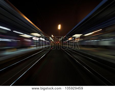 Speed Train Station
