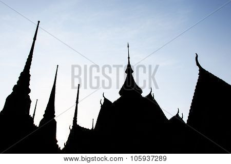 Bangkok, Thailand - April 14, 2015: Wat Pho Known Also As The Temple Of The Reclining Buddha