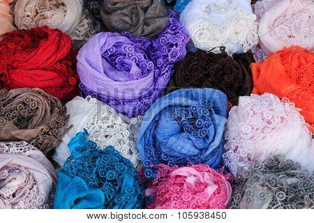 Handmade Lace In Burano Italy