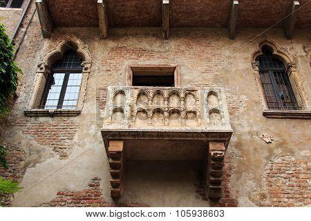 Juliet's Balcony - Verona - Italy