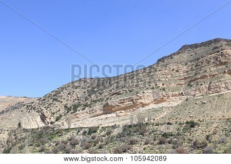 Mountains Of The Dana Nature Reserve, Jordan