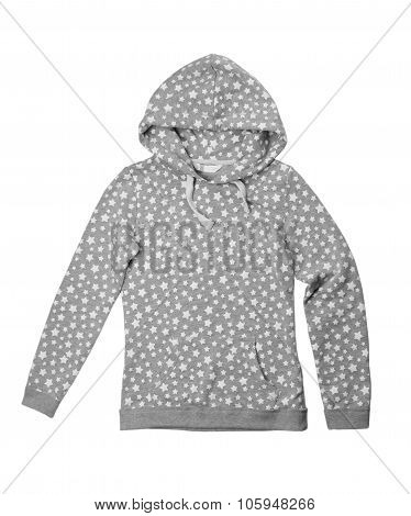 Jacket With Hood With Stars