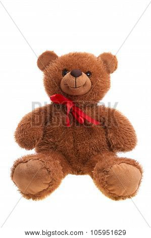 Teddy Bear Isolated Over White