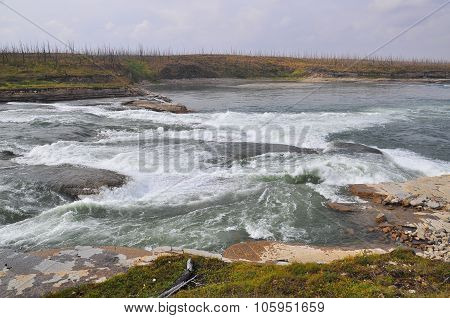 Rapids On The Putorana Plateau.