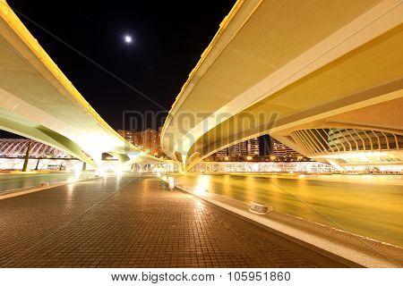 Valencia Architectural Complex City Arts And Sciences (ciudad