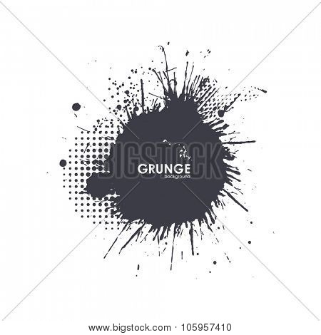Splatter Background. Black Ink Splats. Spray Paint Splatters. Vector Paint Splats. Blots and Splashes. Grunge Ink Stains. Distress Vector Stains for Grunge Effects. Ink Splats for Design Use