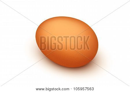 picture of egg brown