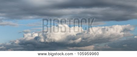 Dramatic Cloudscape Area