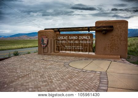 Great Sand Dunes  Sign Three Quarter View.dng