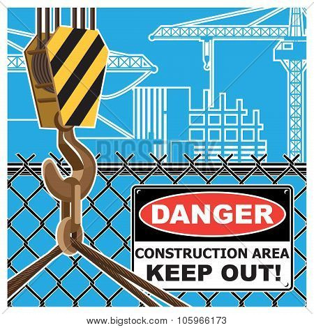 Construction Area Warning