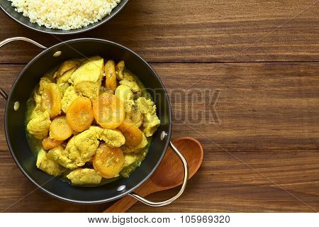 Chicken and Dried Apricot Stew